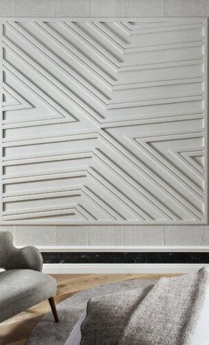 individuelle Wandgestaltung aus der Wandleiste SX185 & der Sockelleiste SX155