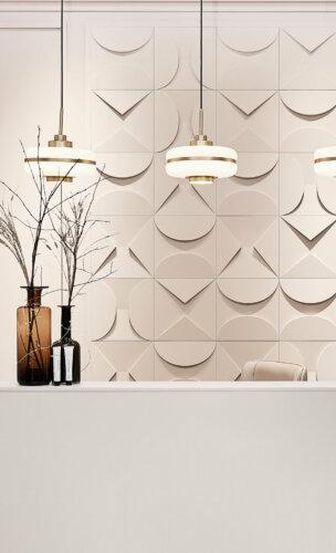 3D-Wandgestaltung mit Wall Panels W106 & W107