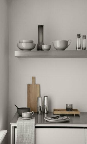 eine große Auswahl stilvoller Küchenhelfer